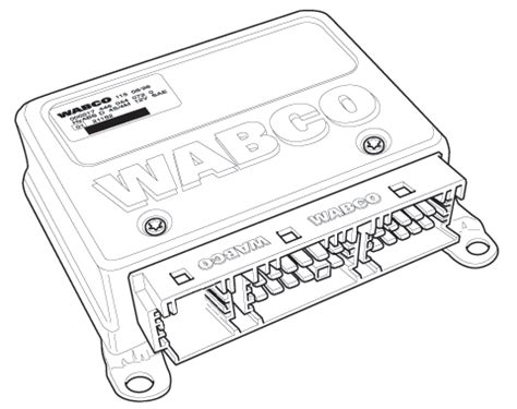 wabco ecu schematic get free image about wiring diagram