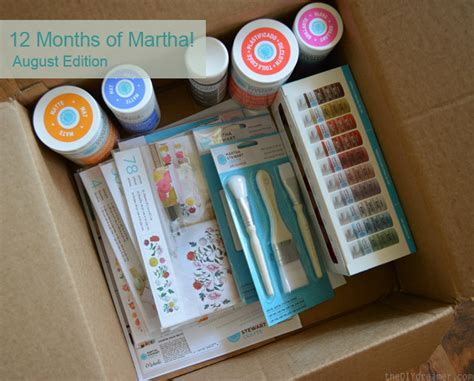 Decoupage Tools And Materials - 12 months of martha stewart crafts august supplies