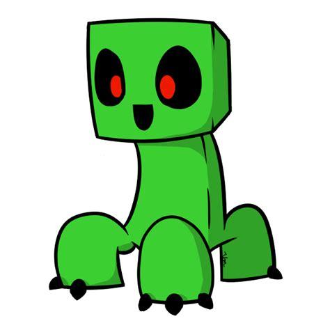 imagenes kawaii de minecraft cute creeper cliparts 199888
