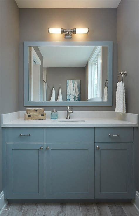 benjamin moore hc  boothbay gray cabinet paint color