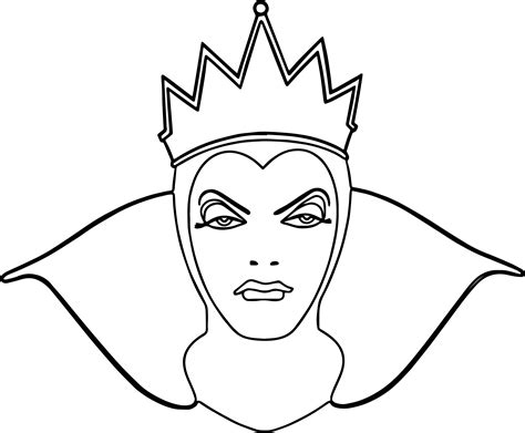 evil queen coloring page evil queen coloring pages coloring pages ideas