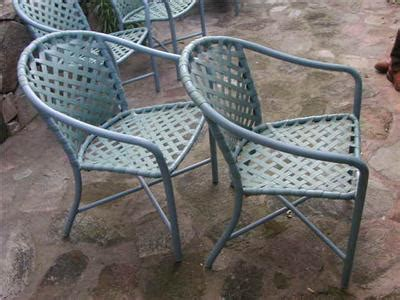 vintage brown patio furniture 4 vintage brown quot garden quot patio furniture chairs blue