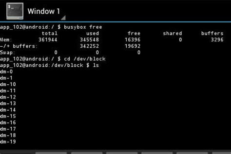 android terminal emulator commands increase ram using linux on android devices jcyberinux
