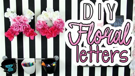 decorations diy spring room decorations decor for your spring room decor dollar store crafts diy floral letters