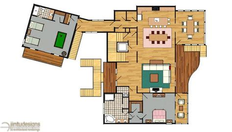 rendered floor plan color floor plan residential floor plans 2d floor plan renderings