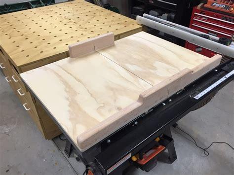 table saw crosscut sled table saw cross cut sled by mike merzke lumberjocks