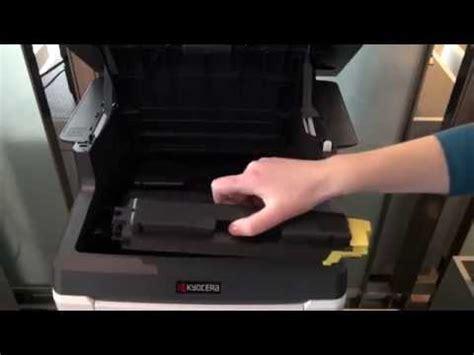 Mesin Fotocopy Kyocera M2535dn how to change toner for kyocera fs 1035mfp fs 1135mfp