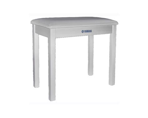 piano bench white yamaha piano bench polished white at gear4music com
