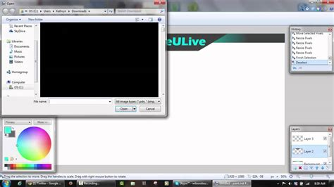 make pattern paint net tutorial how to make a twitch overlay in paint net doovi
