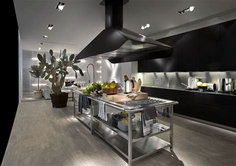 Contemporary Kitchen With Modular Work Island   EL 01 by