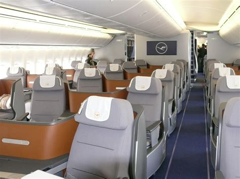 Lufthansa 747 Interior by Lufthansa 747 8 Intercontinental Deliverynycaviation