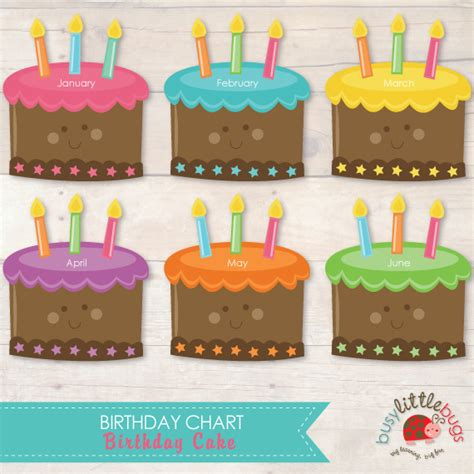 birthday chart template for classroom 8 best images of classroom birthday printables free