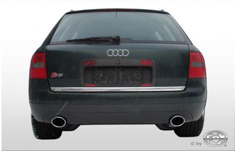 Audi A6 Sportauspuff by Fox Duplex Sportauspuff Audi A6 S6 C5 4b Quattro Endrohr