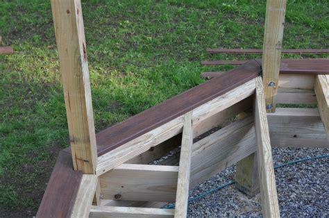 install l post decks com picture frame decking