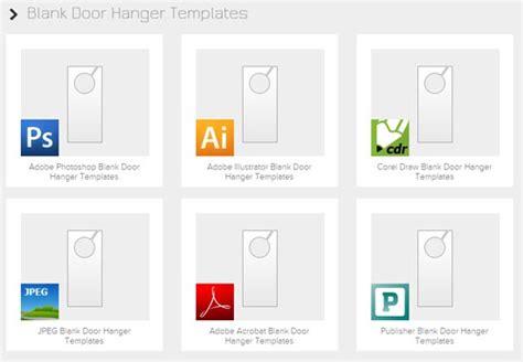 door hanger template photoshop door hanger template photoshop ins designs