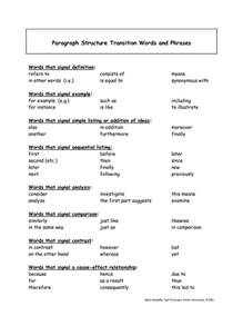 transition words for expository essays ideas about transition words for paragraphs quotes