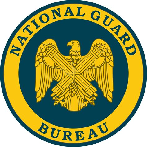 the national file seal of the national guard bureau us svg