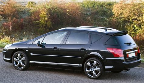 peugeot 407 wagon spoiler alettone posteriore peugeot 407 sw station wagon