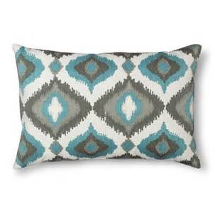 ogee throw pillow aqua threshold target