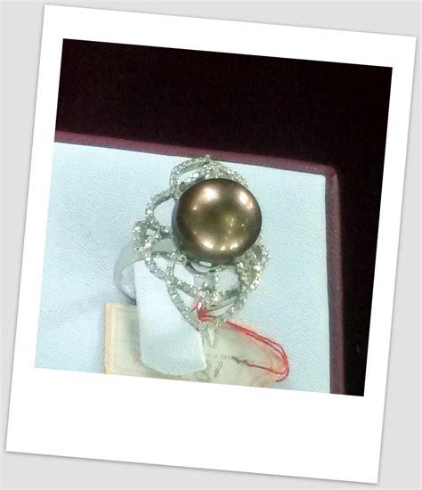 Cincin Lebah Unyu Emas Mutiara Lombok Cincin Mutiara Emas 0131 Info Harga Perhiasan Mutiara