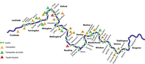 river thames towpath map map of locks on thames river in london thames canoe hire
