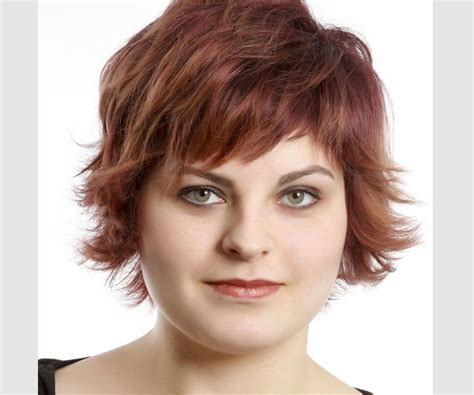 short choppy hairstyles for fat woman striking best hairstyles for round faces medium hair