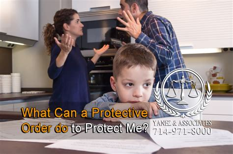 how do i my to protect me what can a protective order do to protect me in orange county