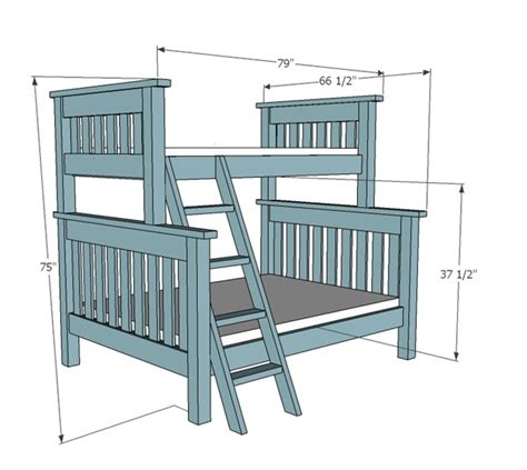 make your own bunk bed plans bunk bed plans