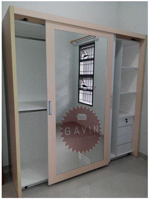 Lemari Pakaian Sliding Cermin lemari pakaian kitchen set minimalis lemari pakaian custom hpl duco dan laker terbaik