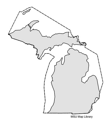 Search Michigan Search Results For Michigan Map Outline Calendar 2015