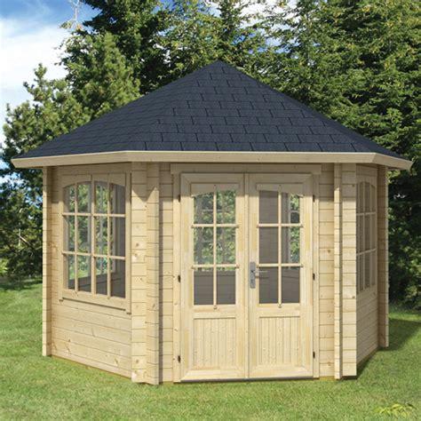 kiosque de jardin en bois kiosque de jardin bois hexagonal ilmenau oogarden