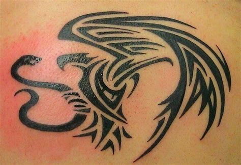 tribal snake tattoo designs 45 snake and eagle tattoos collection
