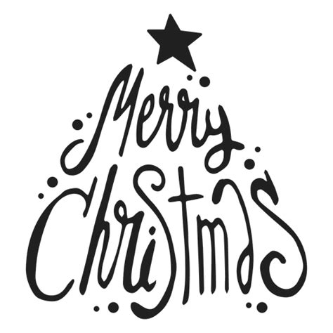 merry christmas badge transparent png svg vector file
