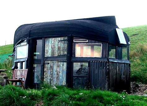 Living In A Shed by The Flying Tortoise A Gorgeous Tiny Boat Roofed Shed