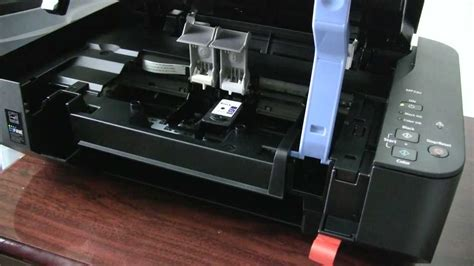 how to ink how to change ink in a canon printer