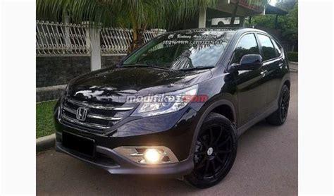 Sarung Ban Serep Mobil Honda Cr V Cover Custom jual honda crv 2 4 hitam 2013 velg 20 kondisi siap pakai