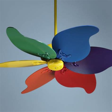Multi Colored Ceiling Fans by Multi Colored Ceiling Fan For The Style Of Your Rooms