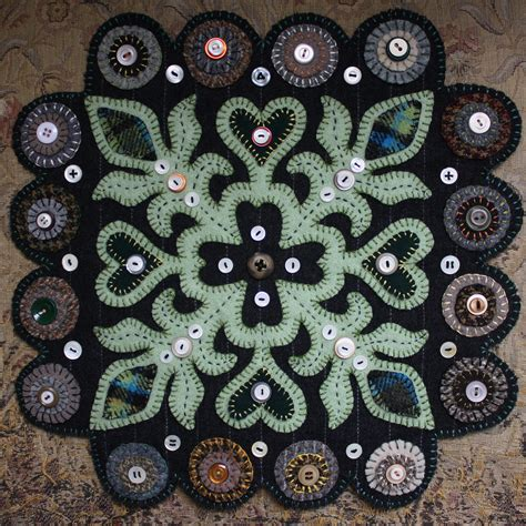 pattern wool felt wool penny rug patterns 171 browse patterns