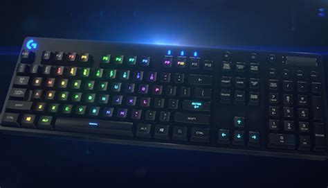 Keyboard Logitech G810 logitech g810 spectrum rgb mechanical gaming keyboard en us