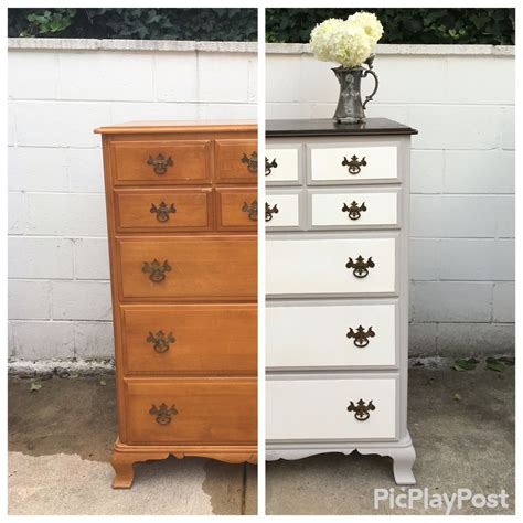 painting a stained dresser black http alittlespruce diy 58 year old maple