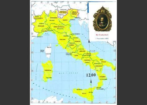 orari d italia ora unita in italia