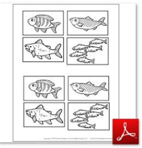 printable fish for diorama kindergarteners go around the world week 17 canada