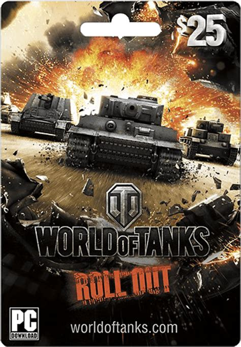 World Of Tanks Gift Cards - 25 wargaming net world of tanks card giftcardshunters com