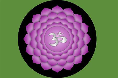 die  hauptchakren  chakra das kronenchakra lichtkreis