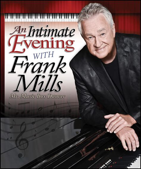 frank mills an intimate evening with frank mills tidemark theatre