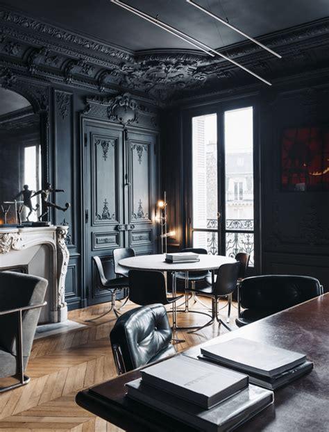 black interior paint id 233 es d 233 co des moulures et boiseries noires
