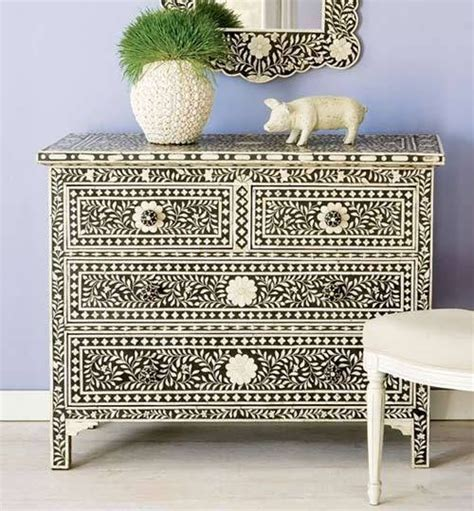 Ideas For Bone Inlay Furniture Design Indian Furniture Bone Inlay Furniture Wrought Iron Bone Inlay Dresser Chest Of Drawer From India