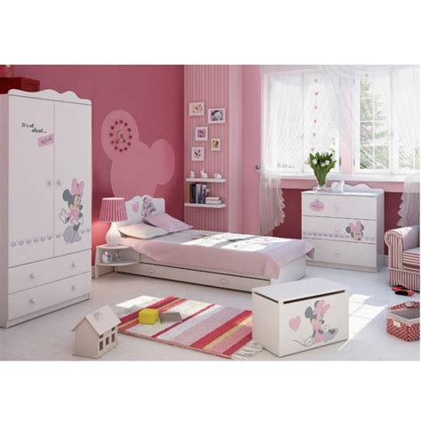 chambre minnie mouse bureau minnie mouse 145cm azura home design