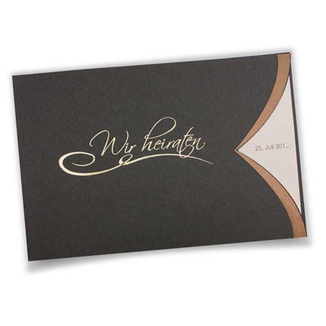 Elegante Hochzeitseinladungen by Hochzeitseinladungen Drucken Wir Drucken Eure Texte In