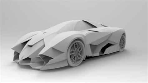 Lamborghini Egoista Kaufen by Lamborghini Egoista Cgtrader
